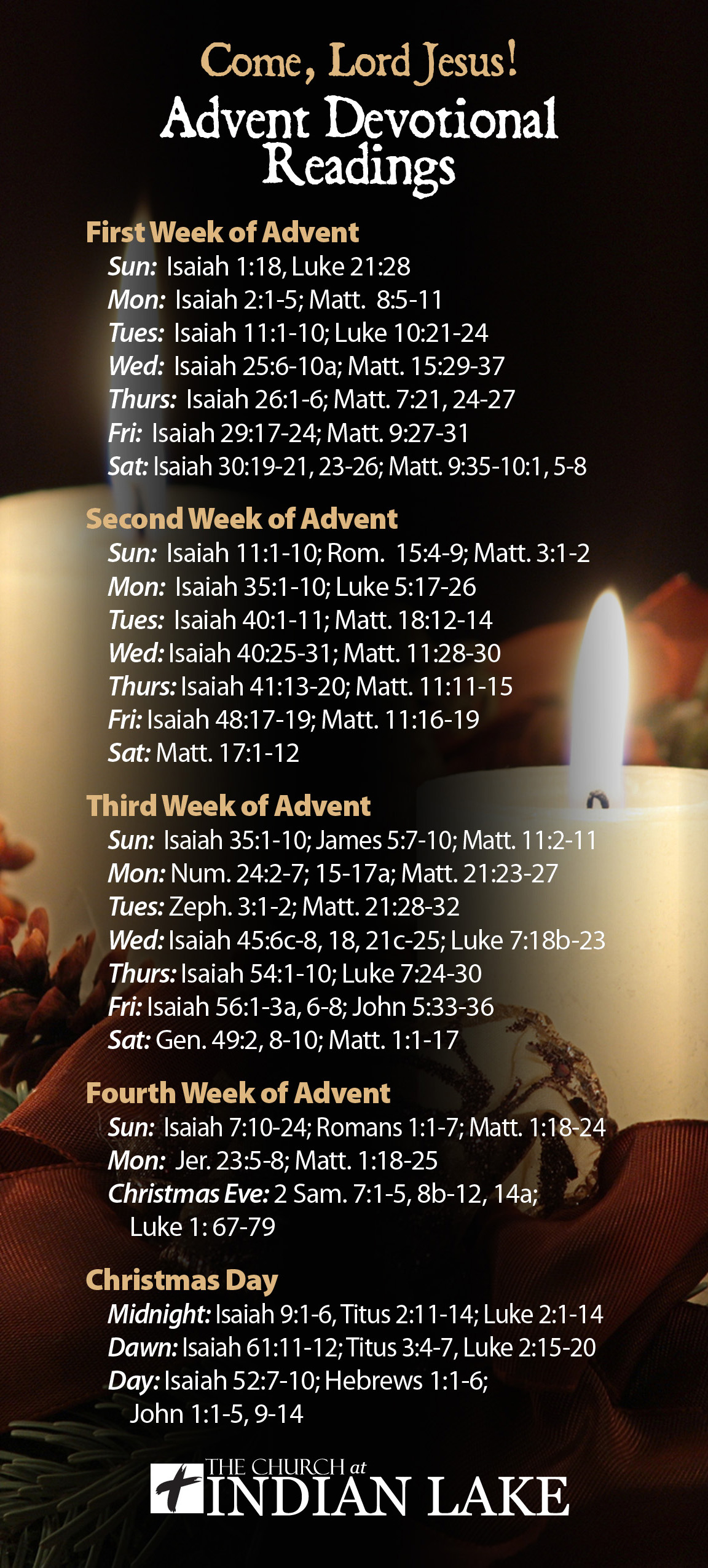 Advent Devotional Readings